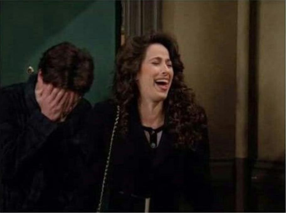 janice laughing