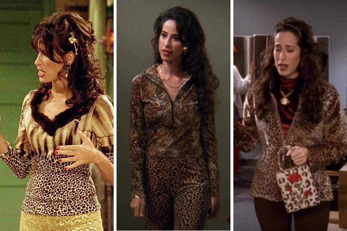 janice friends leopard print